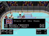 NHLPA Hockey '93 Genesis Three stars