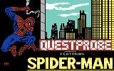 Spider-Man Commodore 64 Title screen