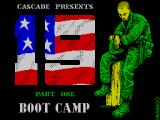 19 Part 1: Boot Camp ZX Spectrum Loading screen