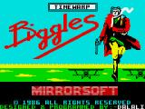 Biggles ZX Spectrum Loading screen