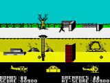Biggles ZX Spectrum Down to get the grenades