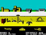 Biggles ZX Spectrum Lots of foes here