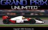 Grand Prix Unlimited DOS Title