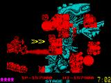 Dragon Breed ZX Spectrum Nice big explosion effects