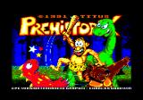 Prehistorik Amstrad CPC Title screen