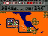 SimCity Amstrad CPC My first residents have started to move in