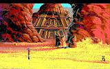 King's Quest V: Absence Makes the Heart Go Yonder! DOS Desert Castle (EGA/Tandy)