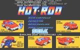Hot Rod Atari ST Main menu and credits