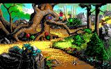 King's Quest V: Absence Makes the Heart Go Yonder! DOS Forest Path (EGA/Tandy)