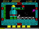 NorthStar ZX Spectrum Game start