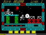 NorthStar ZX Spectrum Using the weapon while jumping