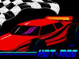 Hot Rod ZX Spectrum Loading screen