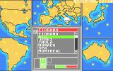 Ferrari Formula One Atari ST The available tracks