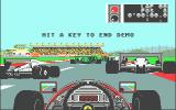 Ferrari Formula One Atari ST Demo mode