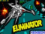 Eliminator ZX Spectrum Loading screen