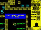 Into the Eagle's Nest ZX Spectrum Plenty of those around, plenty of doors too