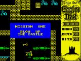 Into the Eagle's Nest ZX Spectrum Game start
