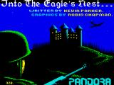 Into the Eagle's Nest ZX Spectrum Loading screen