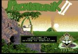 Prehistorik 2 Amstrad CPC Title screen