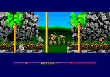 Prehistorik 2 Amstrad CPC The turtle enemy - notice the detailed backgrounds for the Plus
