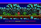 Prehistorik 2 Amstrad CPC The bones scatter after an impact
