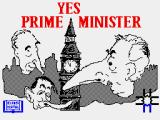 Yes Prime Minister: The Computer Game ZX Spectrum Loading screen