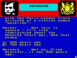 Yes Prime Minister: The Computer Game ZX Spectrum Of war, we don't speak anymore