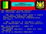 Yes Prime Minister: The Computer Game ZX Spectrum Marketing counts (delete the o as applicable)