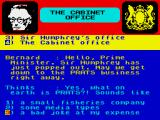 Yes Prime Minister: The Computer Game ZX Spectrum I'd say a small fisheries company