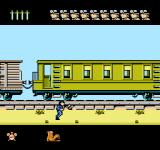 North & South NES You can increase your budget by robbing the train