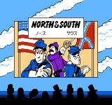North & South NES Japanese title screen
