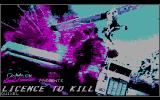 007: Licence to Kill DOS Title Screen (CGA)