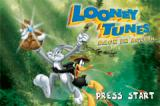 Looney Tunes: Back in Action Game Boy Advance Title screen.