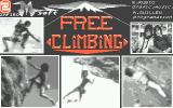 Free Climbing Atari ST Title screen