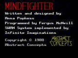 Mindfighter ZX Spectrum Loading screen