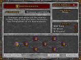 Heroes of Might and Magic II: The Price of Loyalty Windows Descendants mission tree.