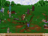 Heroes of Might and Magic II: The Price of Loyalty Windows In this expansion pack you can hire elementals to your army.