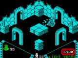 Alien 8 ZX Spectrum The fuzzy bit forces you around the room