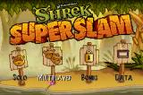Shrek SuperSlam Game Boy Advance Title Screen