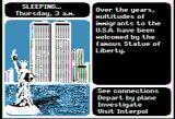 Where in the World is Carmen Sandiego? Apple II Occasionally you need to sleep