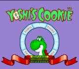 Yoshi's Cookie SNES Main Menu