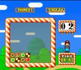 Yoshi's Cookie SNES Puzzle Mode:  Line-up the cookies using only the indicated number of moves (displayed in the top right box)