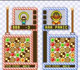 Yoshi's Cookie SNES VS mode:  Line-up the 5 cookies to clear them.  Yoshi-cookies can be used as weapons against your opponents.