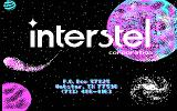 Star Fleet II: Krellan Commander DOS Interstel title screen