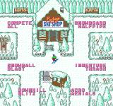 Ski or Die NES Choose single competition or compete all