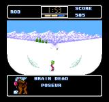 Ski or Die NES Shut up, Lester!