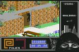Last Ninja 2: Back with a Vengeance Commodore 64 Climbing to the top of the building.