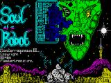 Soul of a Robot ZX Spectrum Loading screen
