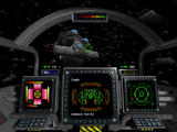 Wing Commander: Privateer - Gemini Gold Windows Within an asteroid field...