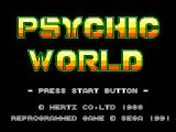 Psychic World SEGA Master System Title screen